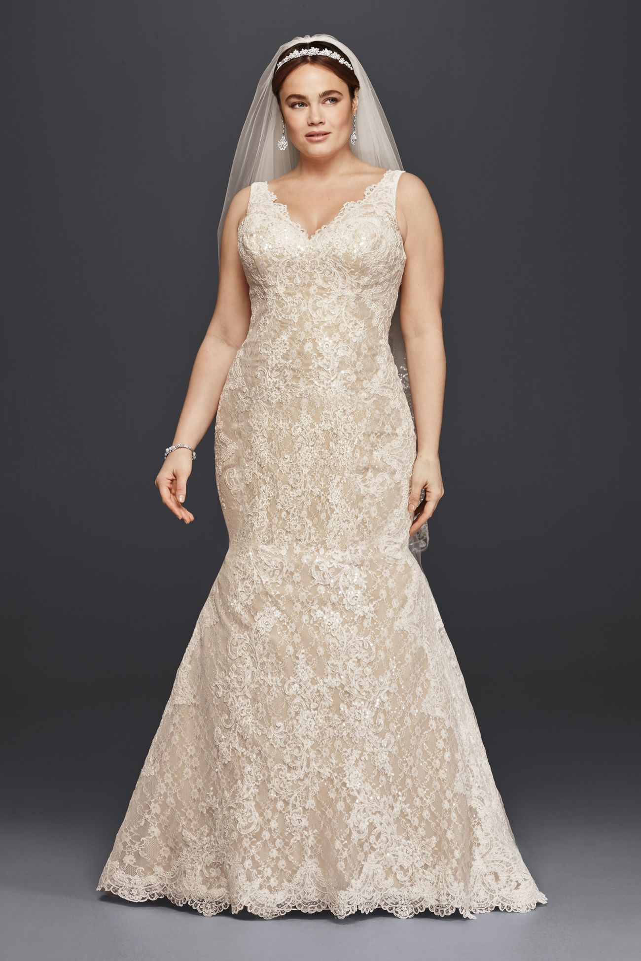 David wedding dress  CWG  Wedding gowns  Pinterest  Trumpets Wedding dress and