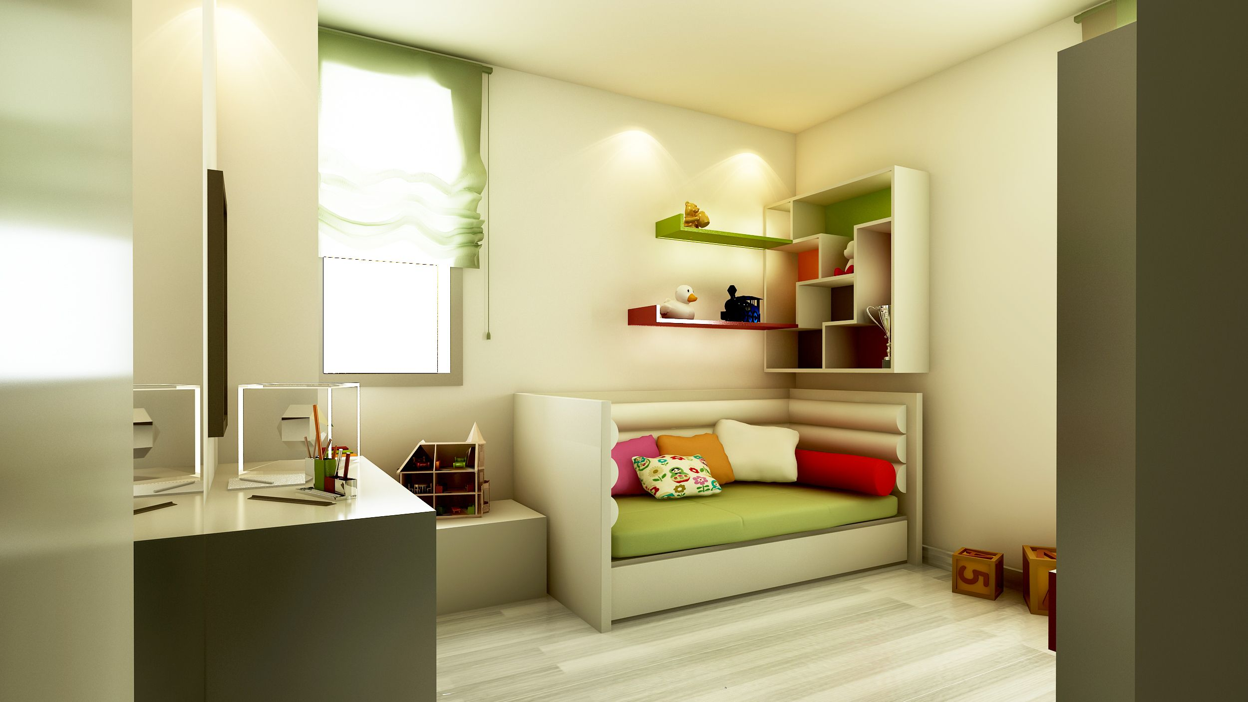 Girl's room a