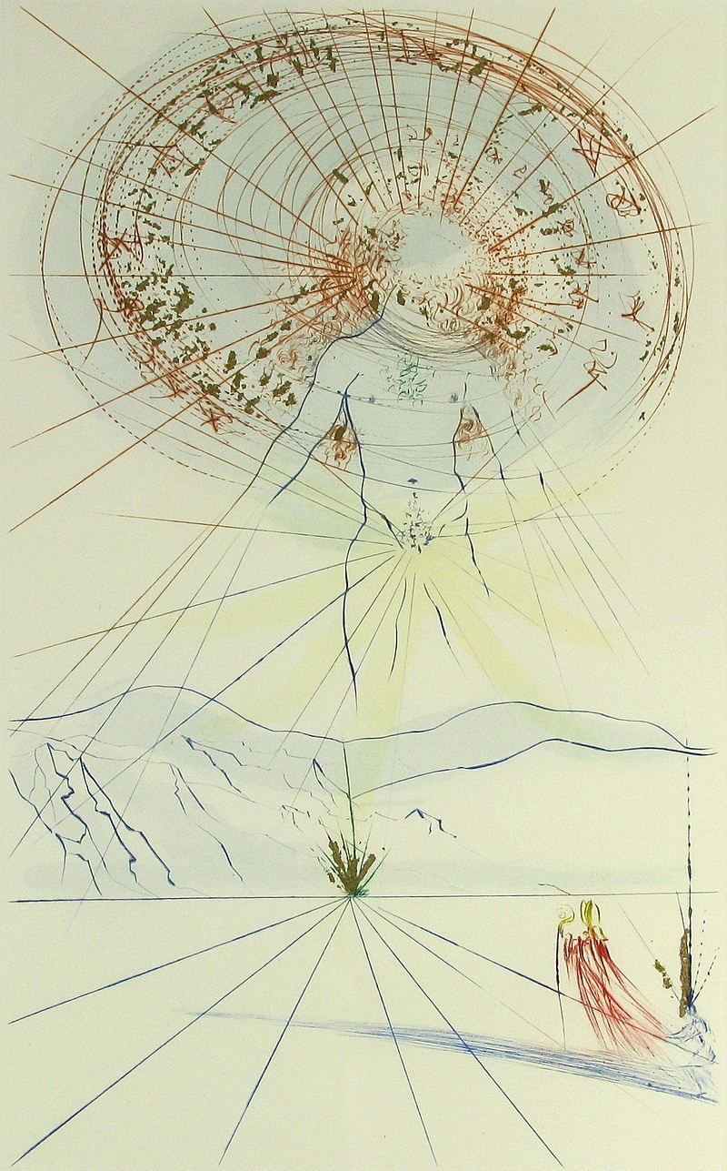 salvador dali song of songs of solomon illustrated by salvador dali song of songs of solomon 1971