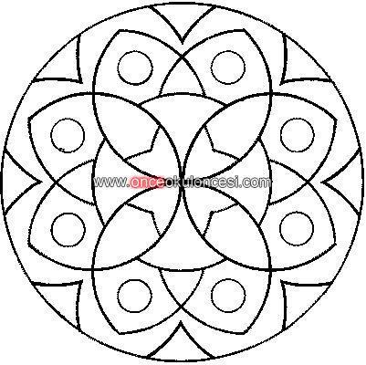 Basit Mandala Boyama Sayfalari Mandala Mandala Boyama Sayfalari