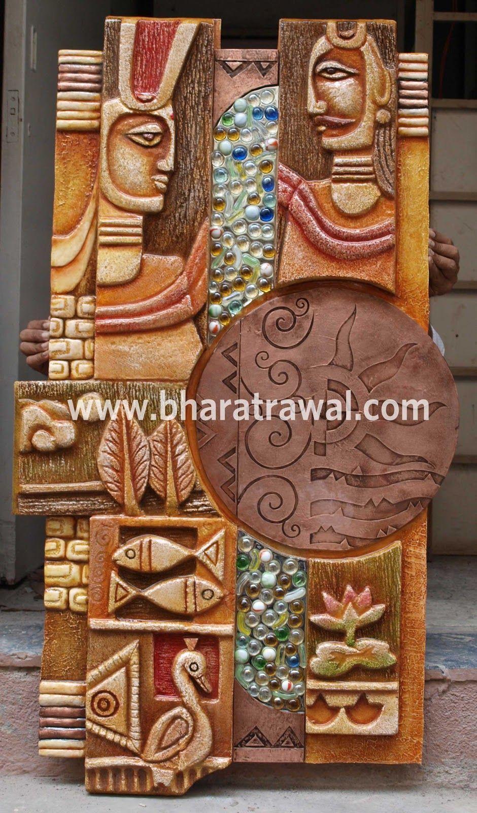 Mural art by muralguru bharat rawal december 2012 for Arts and crafts mural