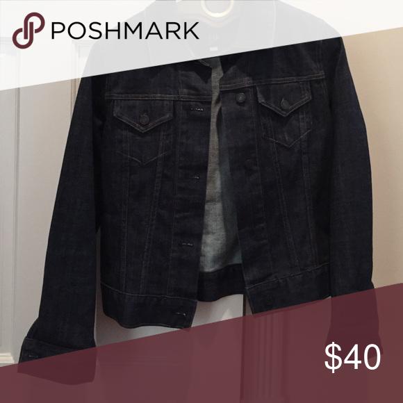 Gap jean jacket size small never worn Gap traditional button down jean jacket never worn GAP Jackets & Coats Jean Jackets