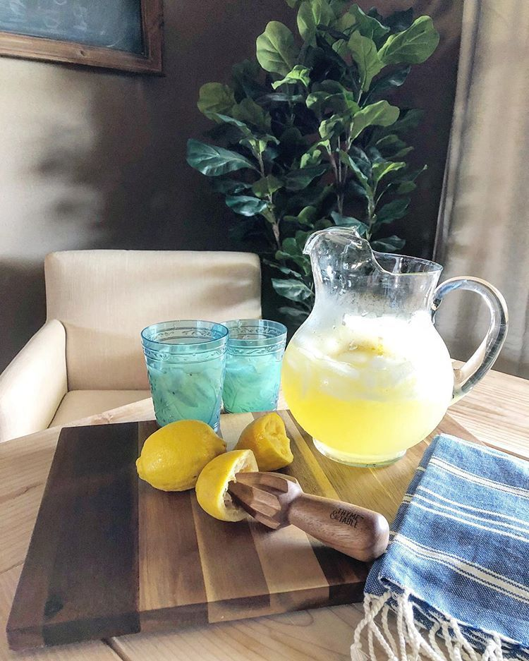 "Cory | Heart Of The Farm on Instagram: ""Is it even summer until you make fresh squeezed Lemonade?  Is it even summer until you make fresh squeezed Lemonade? #freshsqueezedlemonade"