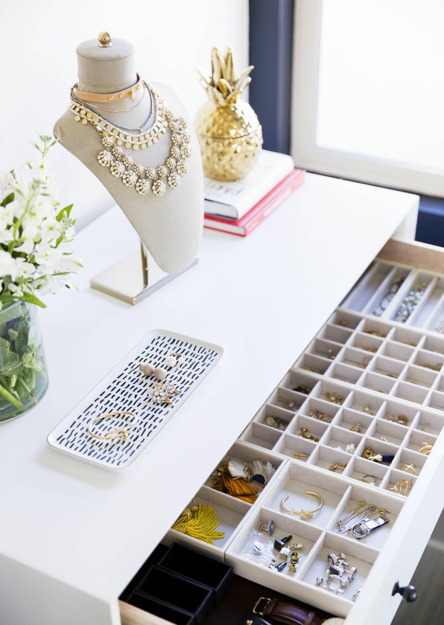 Step Into My Bedroom Blank Itinerary Jewelry Organizer Drawer Jewellery Storage Jewelry Drawer