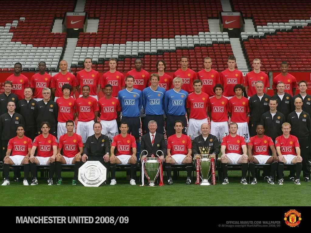 2008 09 Manchester United Squad Olahraga
