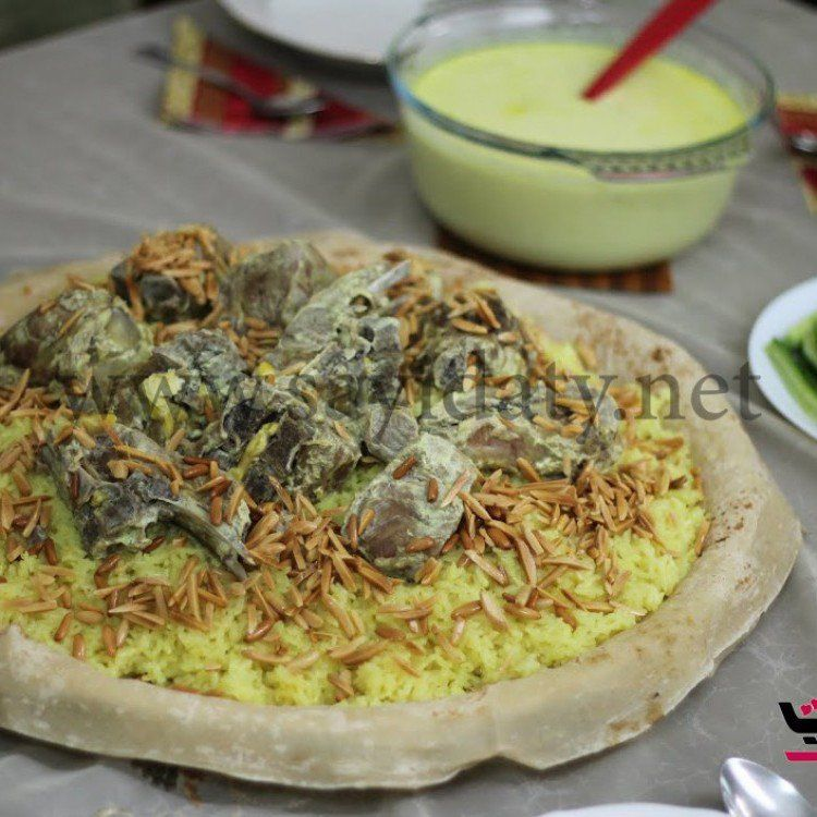 طريقة عمل المنسف الأردني الأصلي بالصور خطوة بخطوة وصفات طبخ أكلات اللحوم وصفات رمضانية Recipes Cooking Food