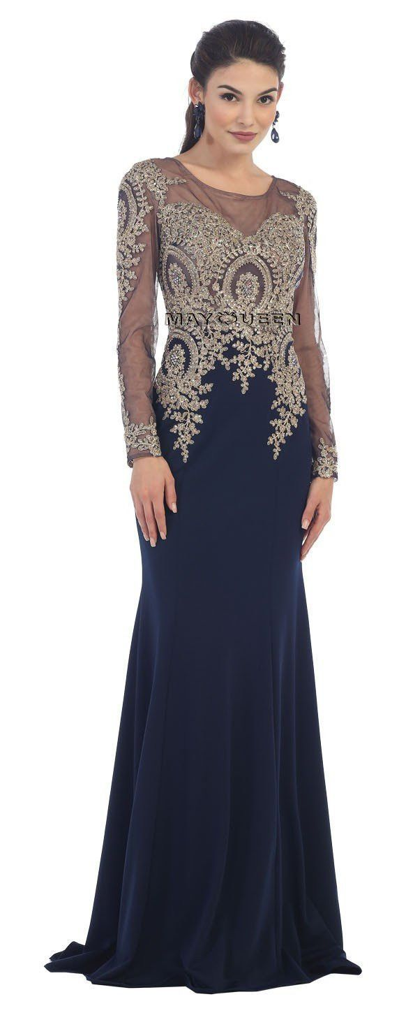 Long sleeve sexy formal evening dress gorgeous gorgeous