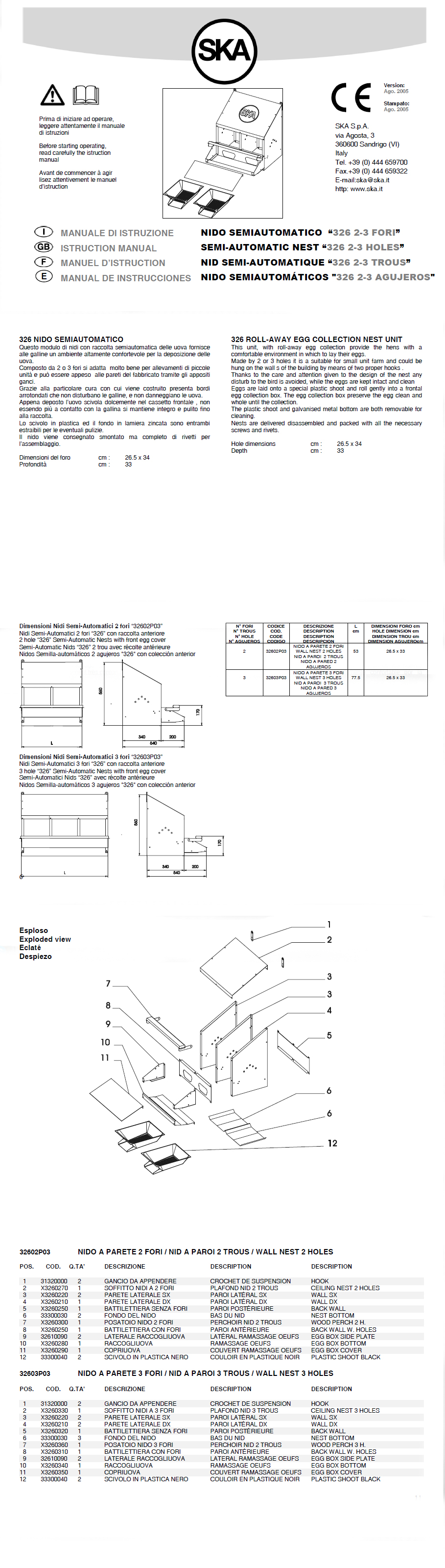 How To Build An Ska Roll Away Nest Box For Chickens Nesting Boxes Roll Away Nest Boxes Chicken Nesting Boxes