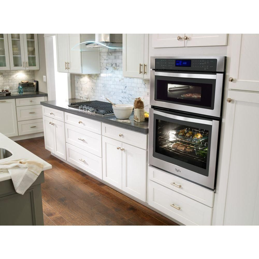 microwave combo wall oven | Dream Kitchen | Pinterest | Wall ovens ...