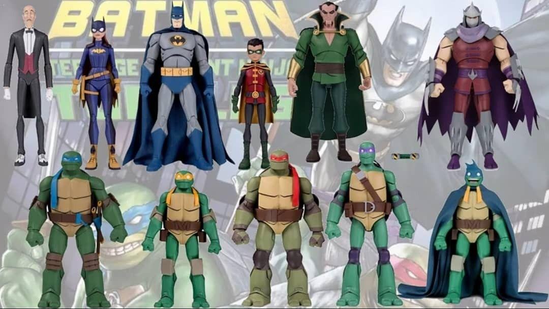 Every Batman Vs Teenage Mutant Ninja Turtles Tmnt Comparison List In 2020 Teenage Mutant Ninja Teenage Mutant Ninja Turtles Tmnt