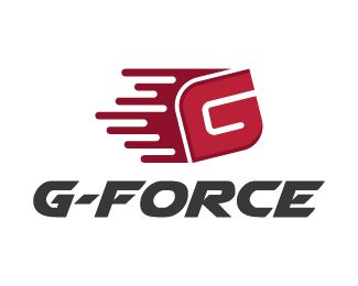 G Force Logo Design Creative Design Logo Made Up With The Letter G With Some Speed Trails Behind It In A Very G Logo Design Logo Design Creative Logo Design