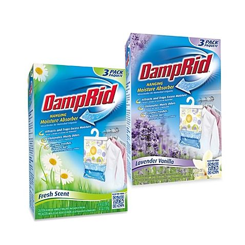 DampRid® Hanging Moisture Absorber (Set of 3)   Moisture ...