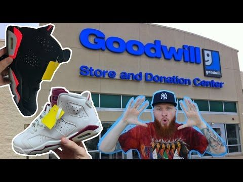 36f6bfa1cb46 SEARCHING for LIMITED SNEAKERS at THRIFT STORES!!! GOOD WILL HUNTING ...