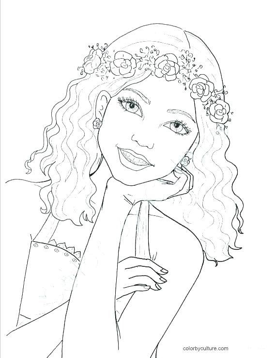 Pretty Girl Coloring Pages For Teenage Girl : pretty, coloring, pages, teenage, Exciting, Teenage, Coloring, Pages, Printable, Beatiful, Teens, Pages,, Girls,, Books