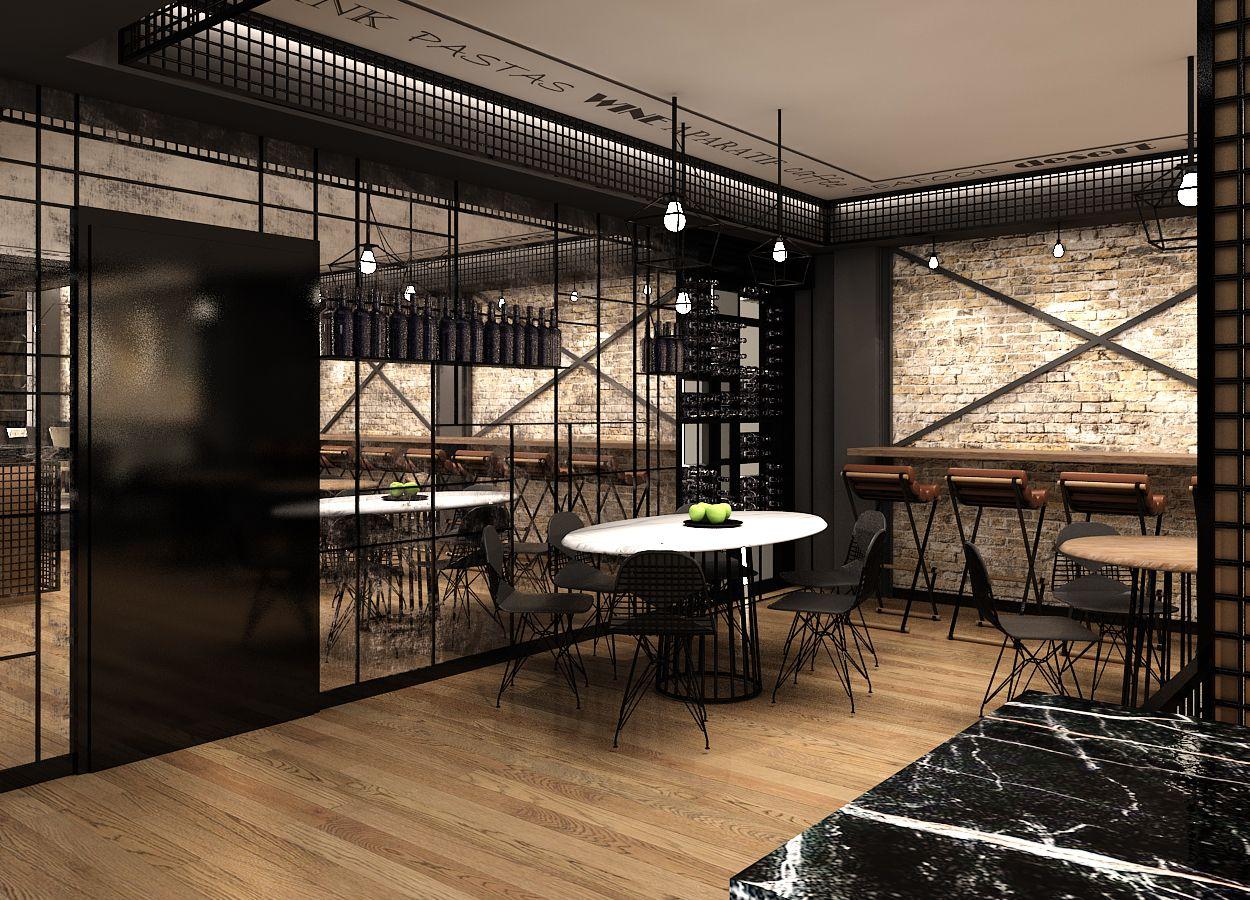 Innenarchitektur skizze cafe  Rodosto Hotel Cafe by UDESIGN #interior #architecture #design ...