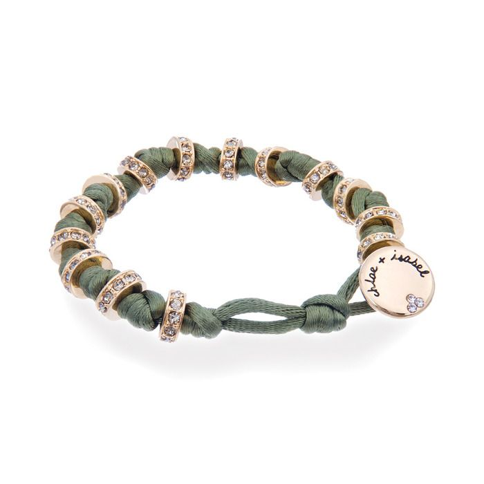 Olive Knots + Bolts Wrap Bracelet ~ $38 chloe + isabel  http://ashleywicks.chloeandisabel.com