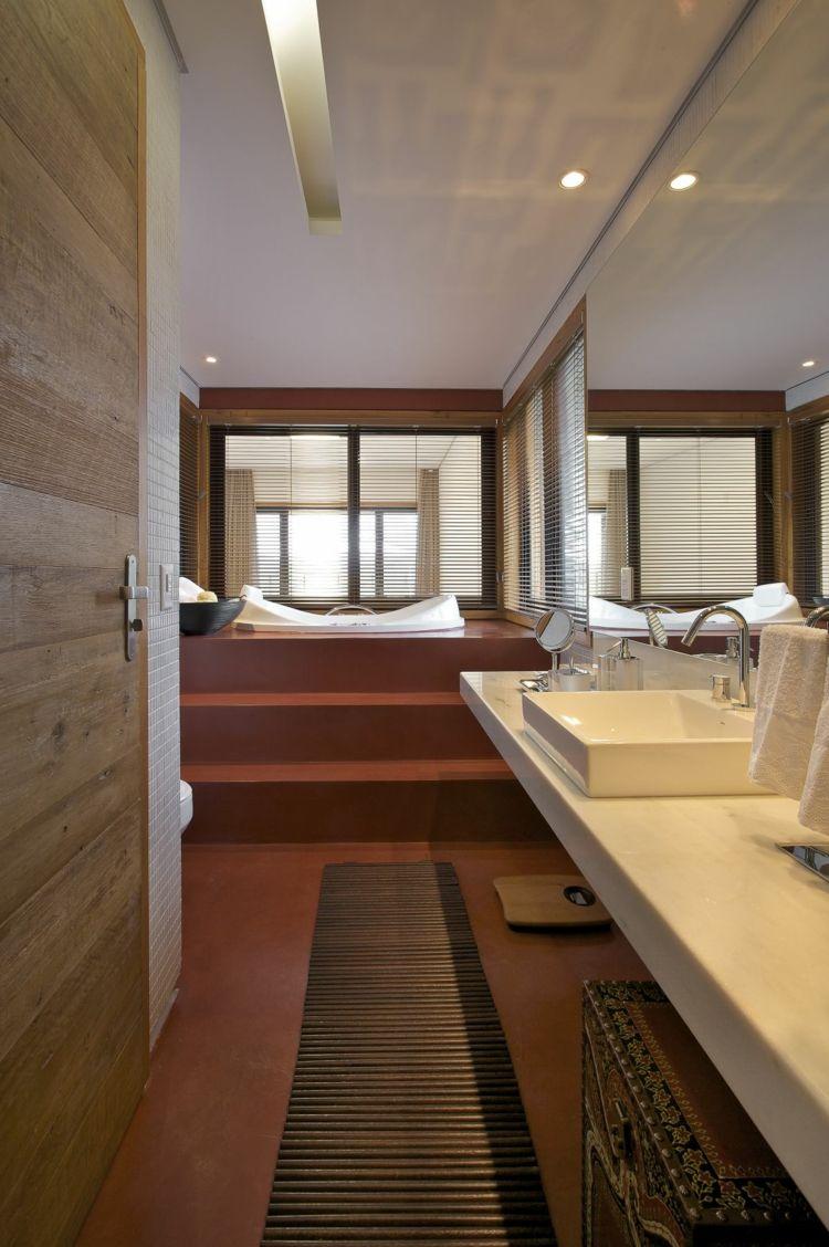 Bad ideen halbbäder badmöbel für kleine bäder u  praktische schränke u regale bader