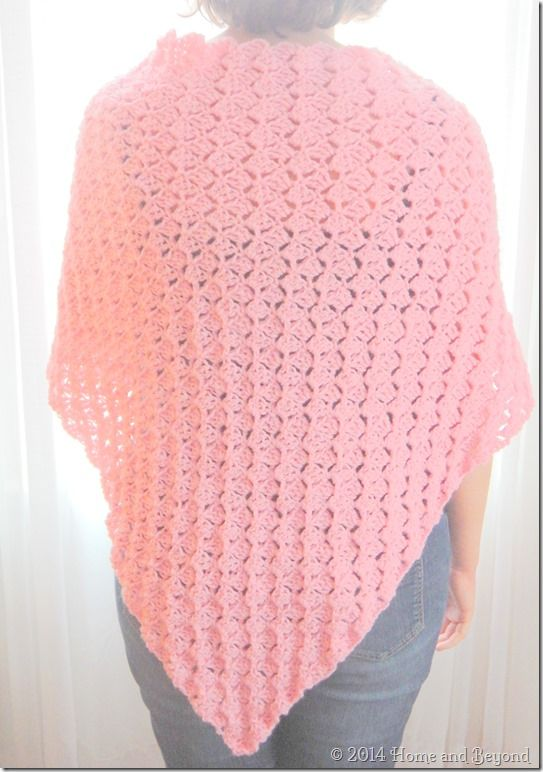 A Simple Shawl for a Ronald McDonald House Mom ~ free pattern ...