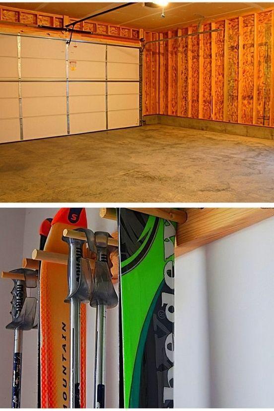 Garage Storage Ideas Above Garage Door And Garage Storage Ideas For Fishing Rods Fishing
