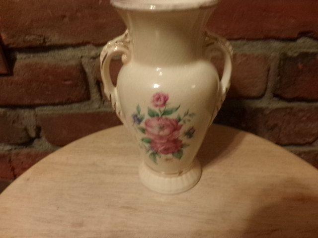 Spauling China Vase Hand Painted Porcelain Vase Vintage Vase Gift