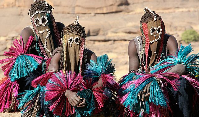 Masks are the most important symbol of Dogon culture. There are various types of masks including those which protect against vengeance and masks which help pass on knowledge to the younger generation.    Link PDF: DOGON - Festival de L'Imaginaire..  http://www.amis-de-laprak.com/dp_dogon.pdf.