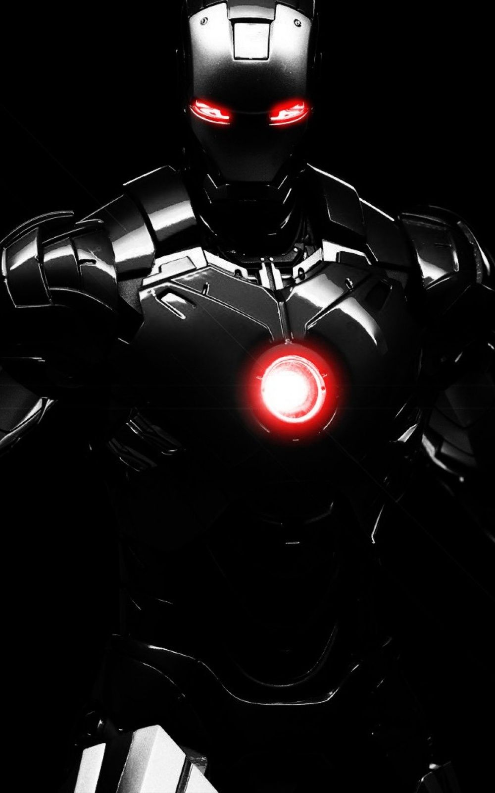 Iron Man Black Armour iPhone 6 Plus HD Wallpaper / iPod