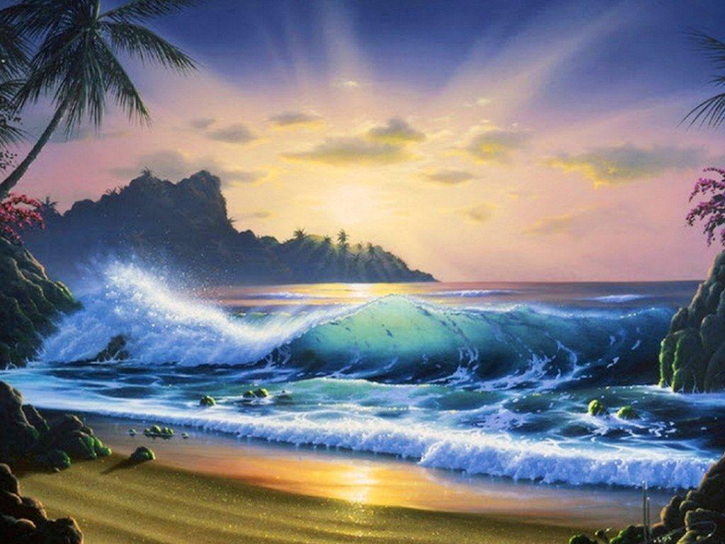 paisajes marinos para pintar al oleo | marinas pintura ...