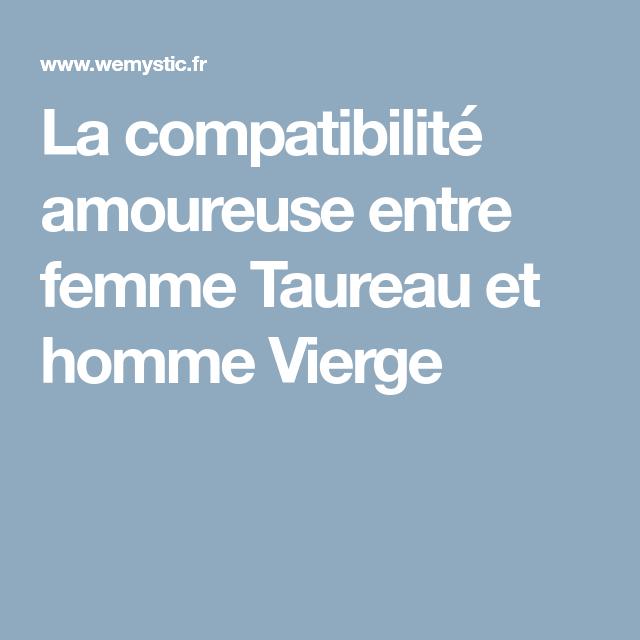 276e2dbb9f5 La compatibilité amoureuse entre femme Taureau et homme Vierge