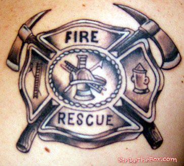 Maltese Cross Tattoo Firefighter Tattoos Tattoos Maltese Cross