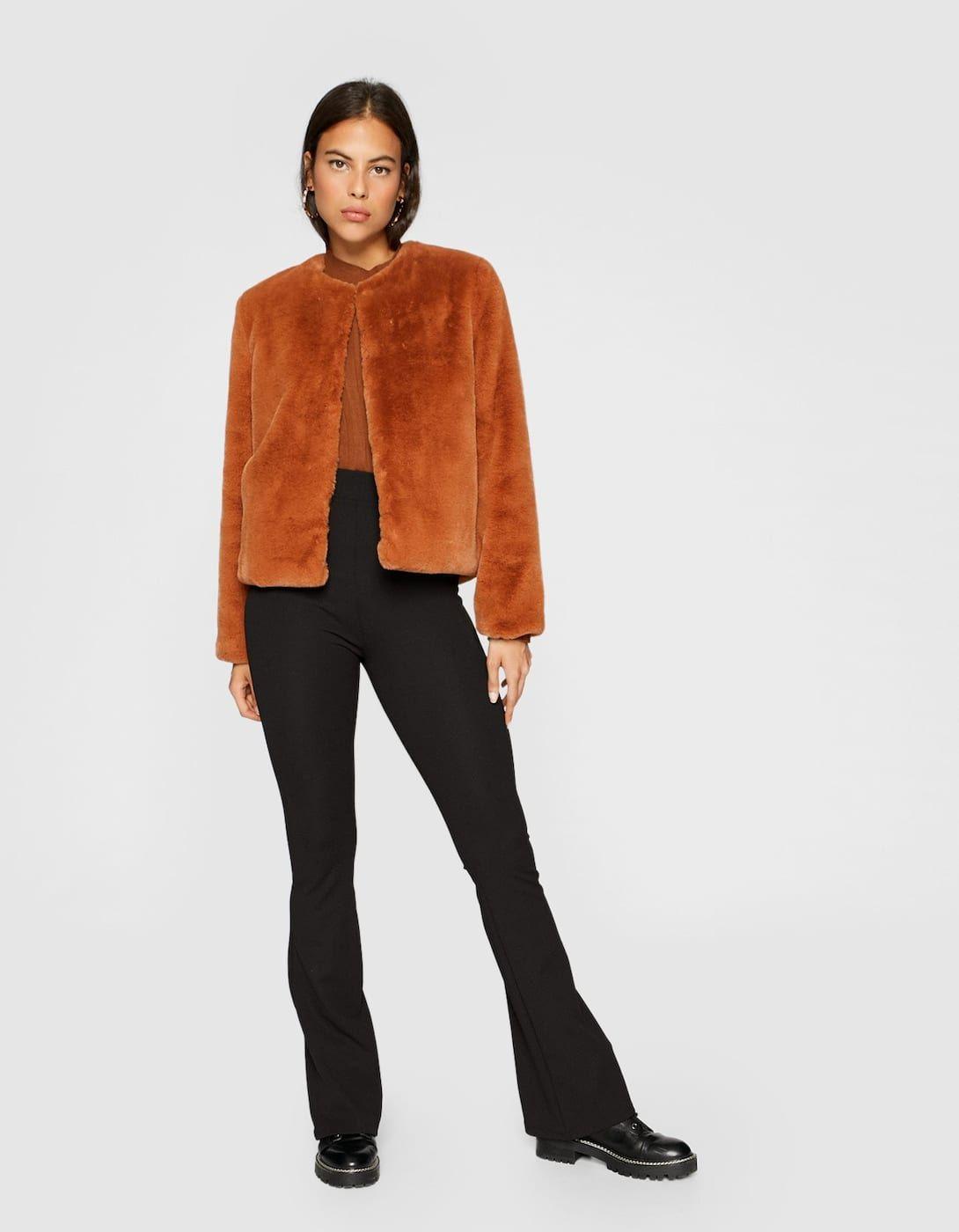 e19a9eb2221db Soft faux fur jacket | Wish list | Faux fur jacket, Fur jacket, Fashion