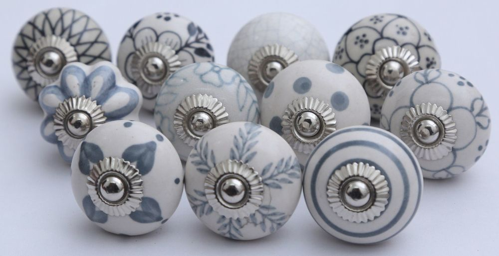Pin On Special Bathroom, Hand Painted Ceramic Cabinet Knobs