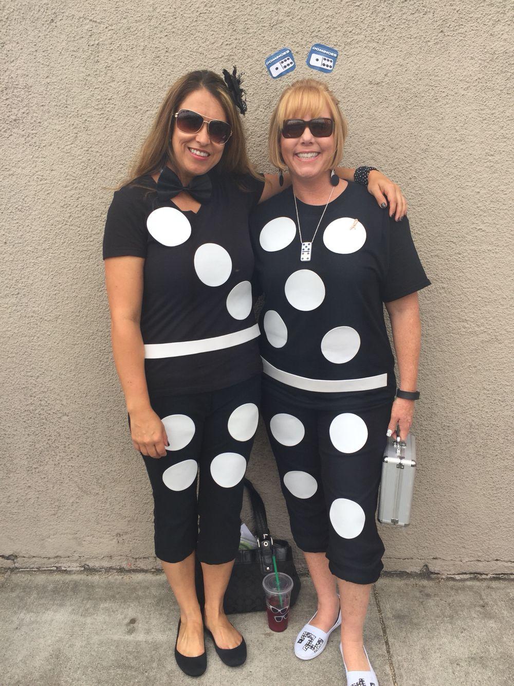 Domino costume! Super easy halloween costumes