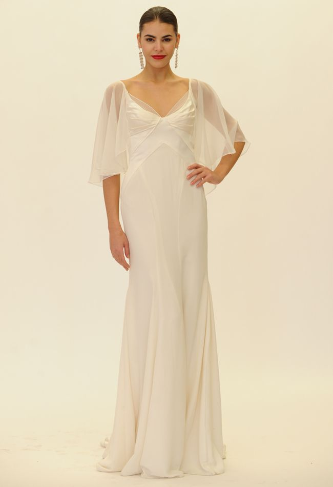 6c88f6de3 Vestidos de novia para boda civil largos