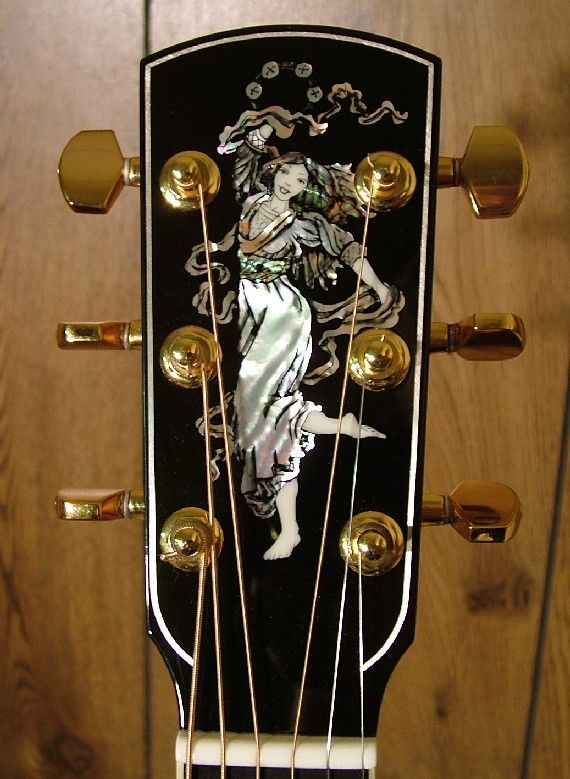 Larrivee D 10 Brazilian Adirondack Guitar Guitar Inlay Luthier Guitar Guitar Design