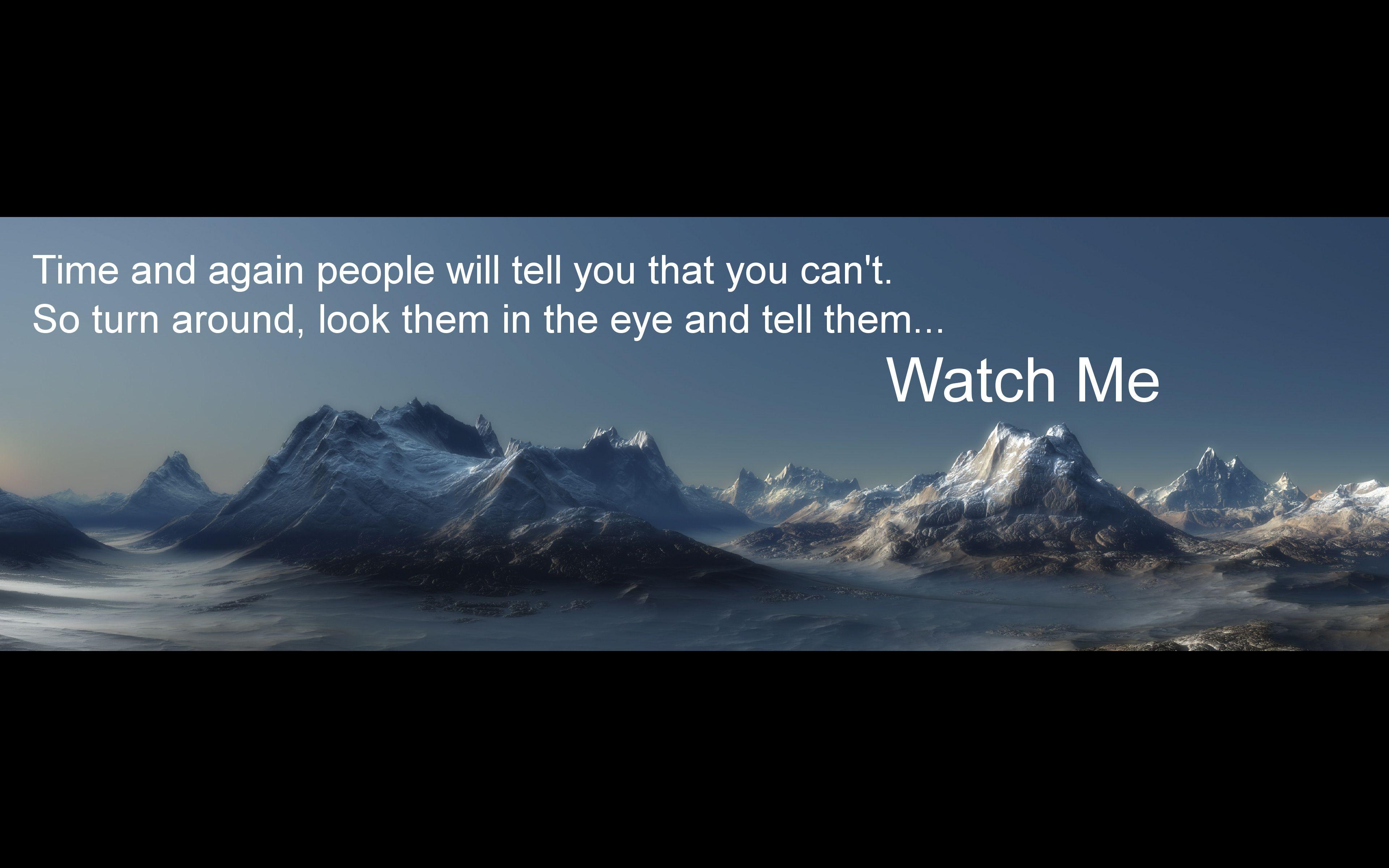Quotes Fog Landscapes Motivational Mountains #Quotes