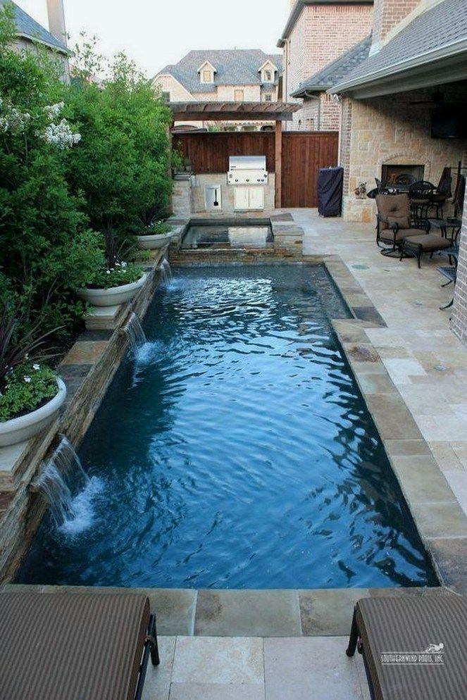 45+ fabulous small backyard designs with swimming pool 36 ...