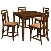 Found it at Wayfair - Brentwood 5 Piece Pub Table Set