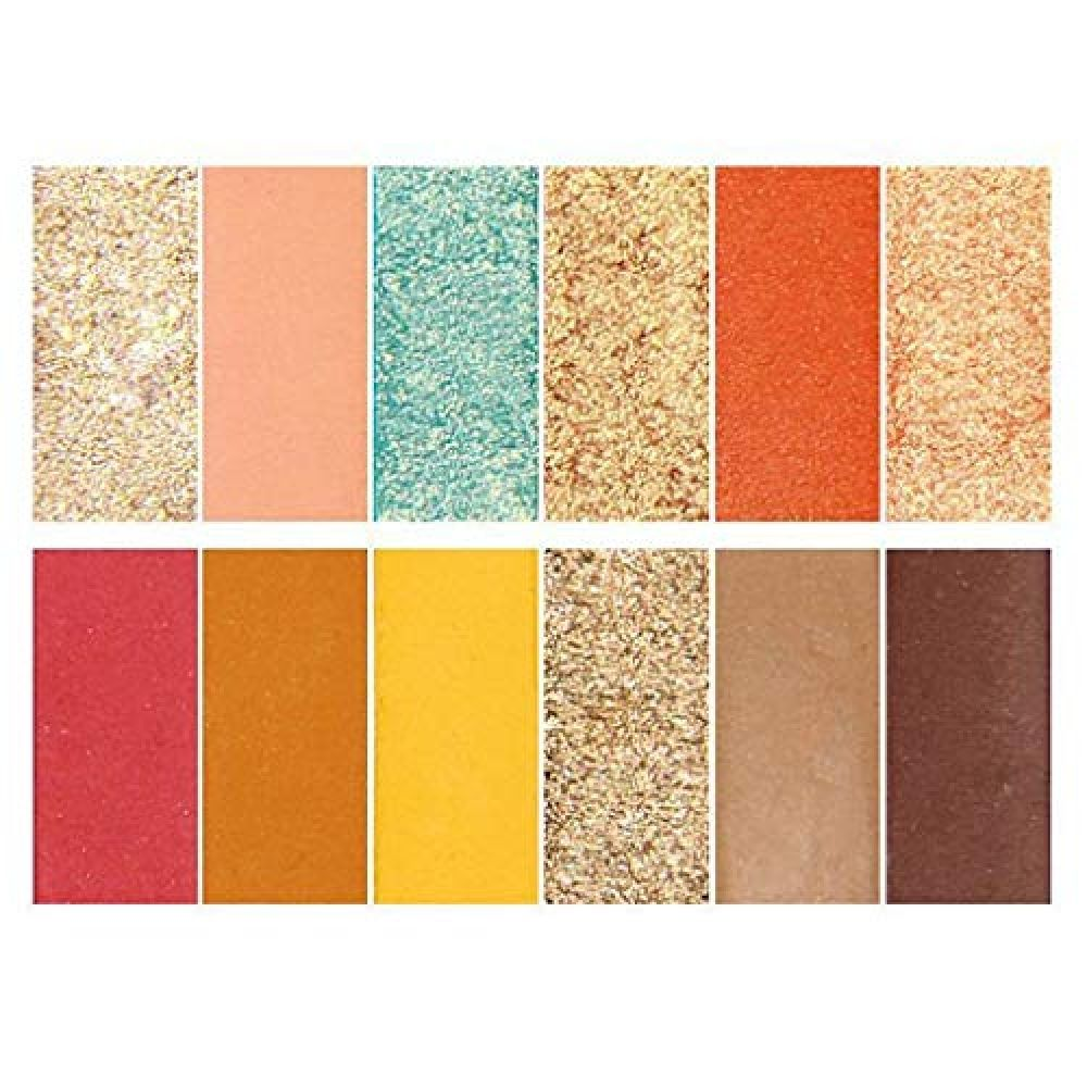 OutTop(TM) 12 Color Matte Eyeshadow Bright Silky Earth