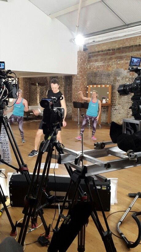 Filming for fitsteps, Fitsteps FAB and Extreme