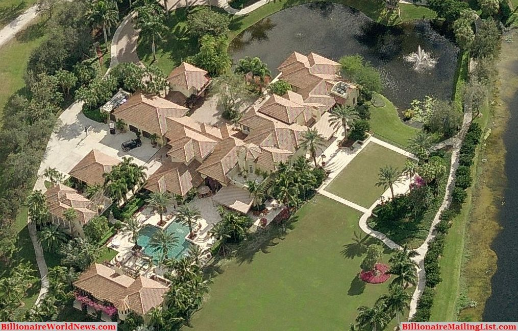 billionaire miami mansions from above – an aerial view | weston
