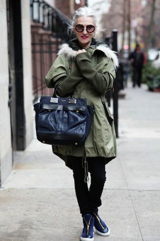 stylish older womanva advanced style Style Ideas are for everyone