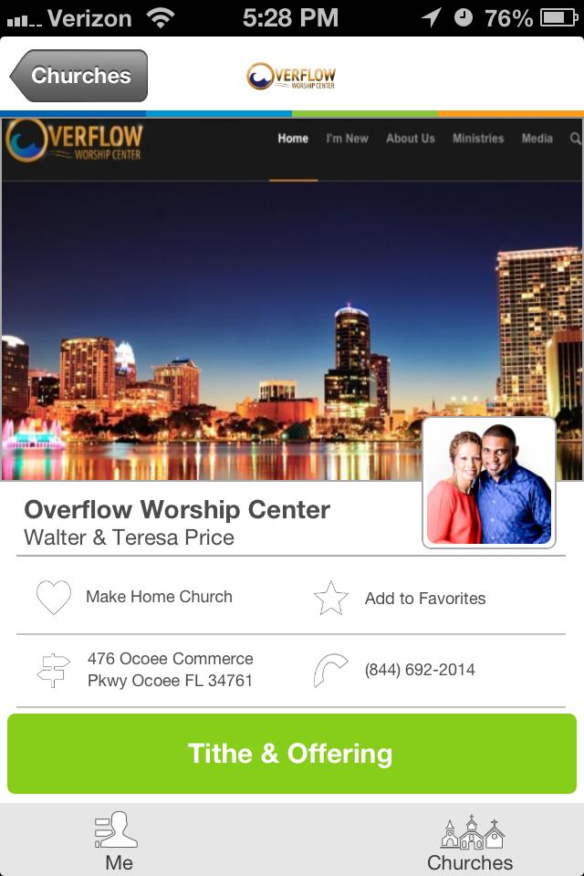 Overflow Worship Center in Ocoee, FL Worship, My church