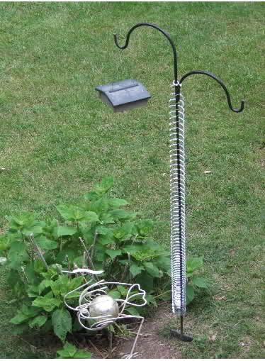Diy Squirrel Proof Bird Feeder Slinky Google Search