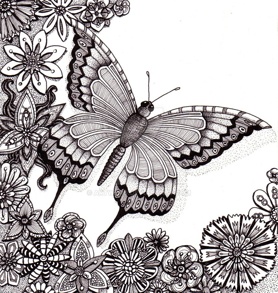 flutter by butterfly 25aug12 by artwyrd deviantart com on
