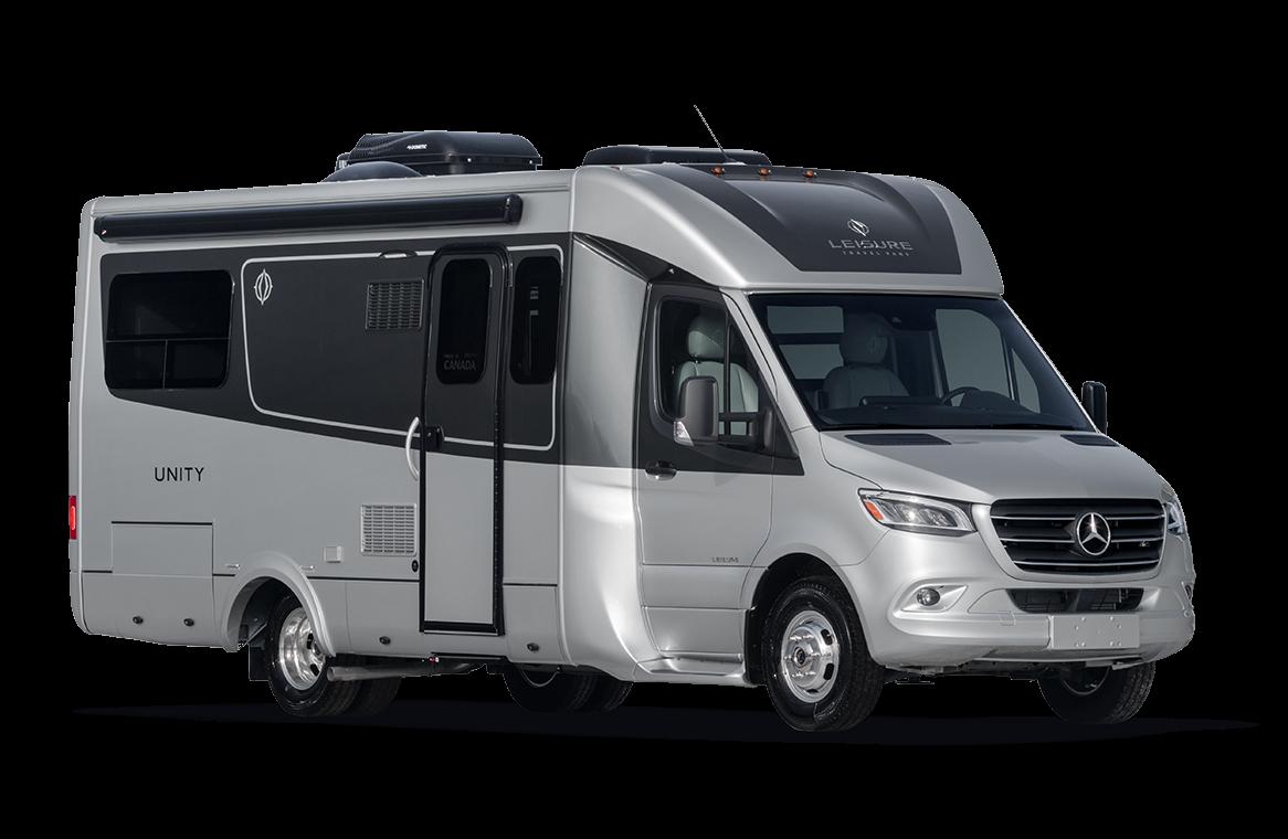 Unity Floorplans Leisure Travel Vans in 2020 Leisure