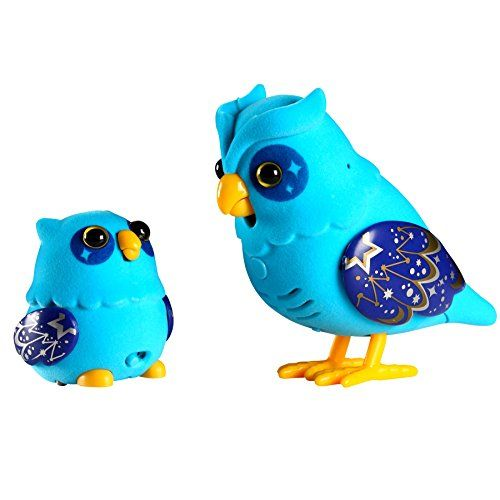 Little Live Pets S2 Tweet Talking Owl And Baby Nightstar Family