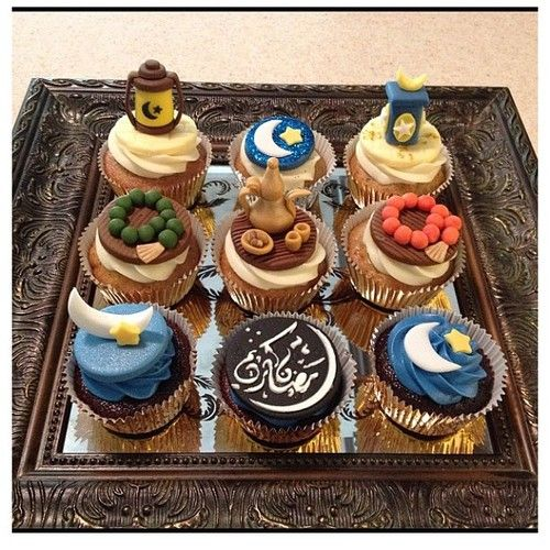Now THESE are Eid cakes!!