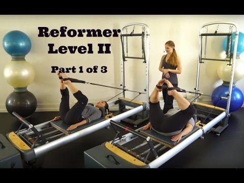 Upside-Down Pilates - Reformer Level II Part 1 of 3