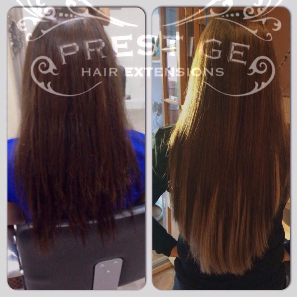 Ombr Effect Created Using Only Prestige Hair Extensions Manchester