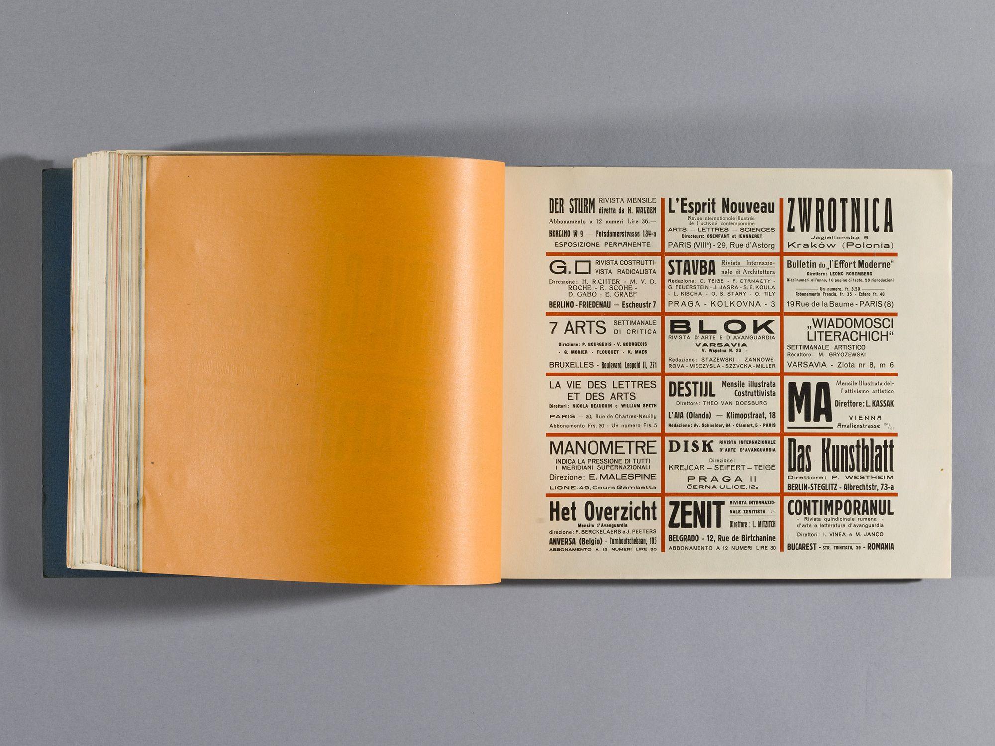 Depero Futurista - The Bolted Book - a New Facsimile -
